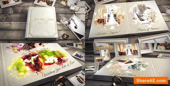 Videohive Wedding Book