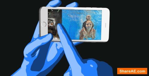 Videohive Hand & Phone