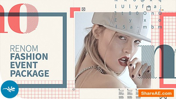 Videohive Renom - Fashion Event Package