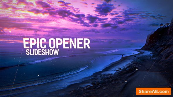 Videohive Epic Opener Slideshow