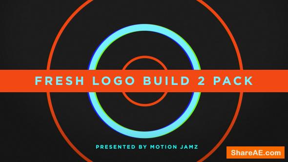 Videohive Fresh Logo Build 2 Pack Volume 1