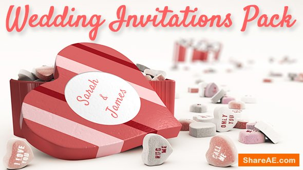 Videohive Wedding Invitations Pack
