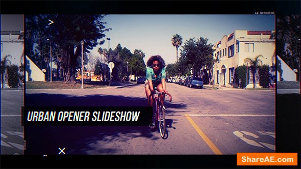 Videohive Urban Opener Slideshow