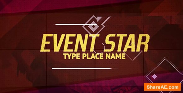 Videohive Event Star