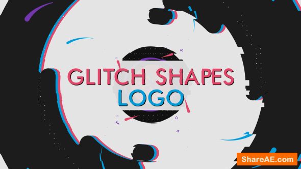 Videohive Abstract logo Shape » free after effects templates
