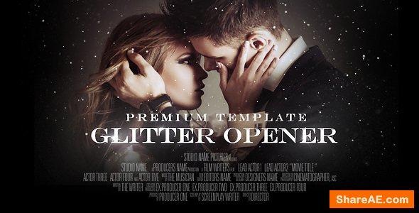 Videohive Glitter Opener