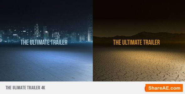 Videohive The Ultimate Trailer