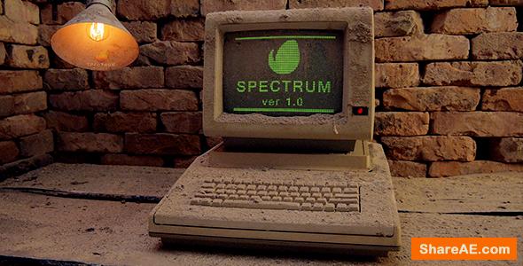 Videohive Spectrum - Old Computer OpeneR