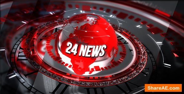 Videohive 24 Broadcast News - Complete Package