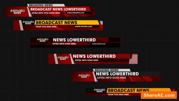 Videohive News Pack V2 Free After Effects Templates After