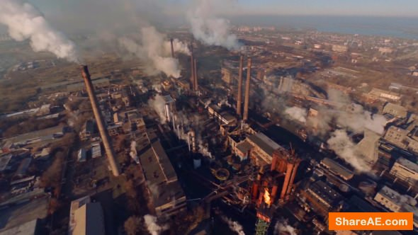 Videohive Factory Smoke - Stock Footage