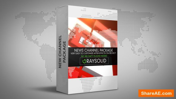 Videohive Square News Package