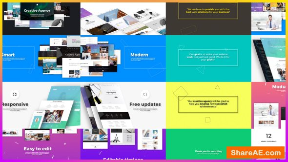Videohive Creative Agency // Website Presentation