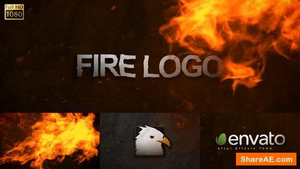 Videohive Fire Logo 19733968
