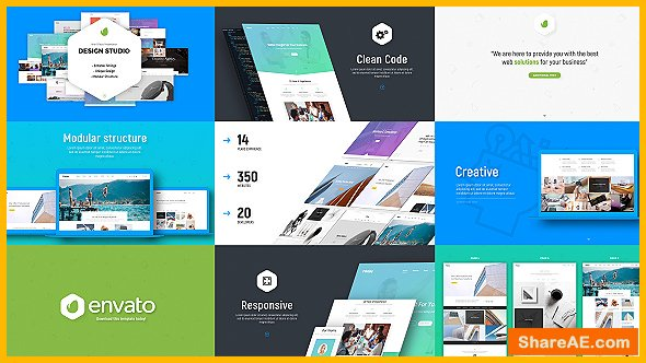 Videohive Design Studio / Website / Software Presentation