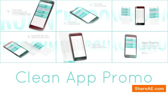 Videohive Clean App Promo
