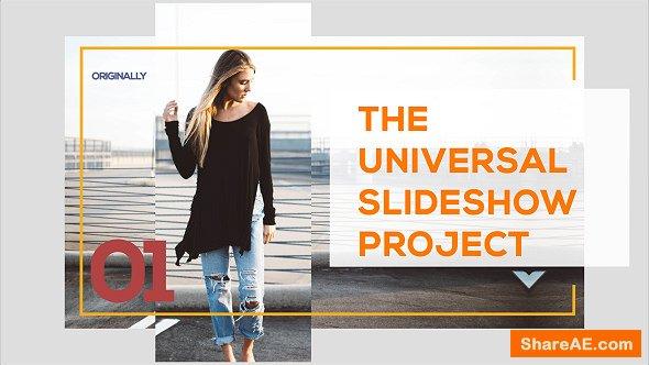 Videohive Universal Slideshow 17519444