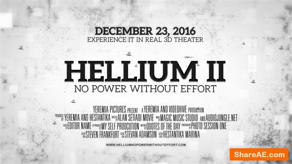 Videohive Helium - Cinematic Trailer