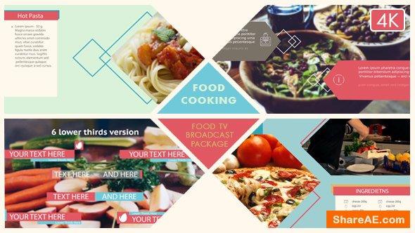 Videohive Food Broadcast Package