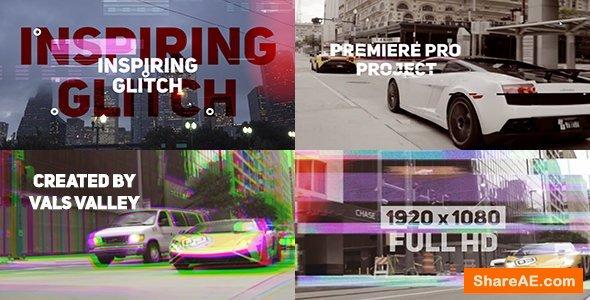 Videohive Inspiring Glitch Opener -  Premiere Pro Templates