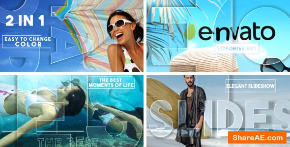 Videohive Refraction Slideshow