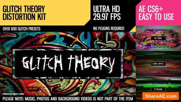 Videohive Glitch Theory (UltraHD Distortion Kit)