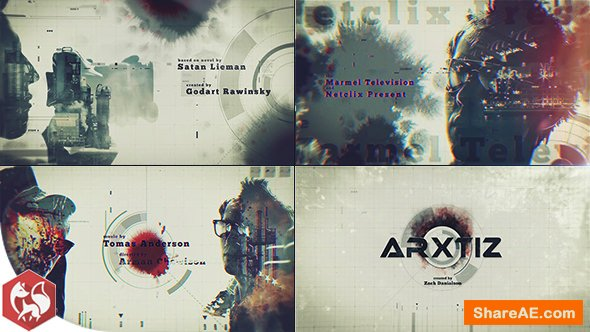 Videohive Double Exposure - Movie Opening