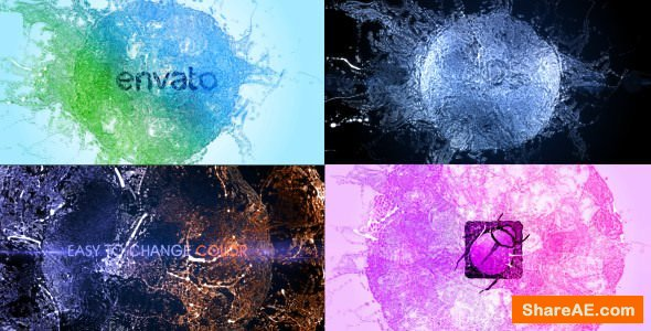 Videohive Splash Logo - Particle Effect 11