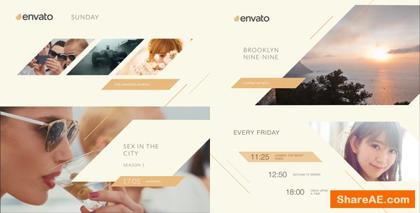 Videohive Clean Broadcast Pack