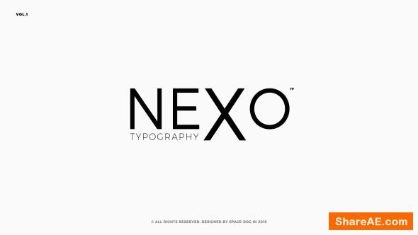 Videohive Animated Typography 21287603