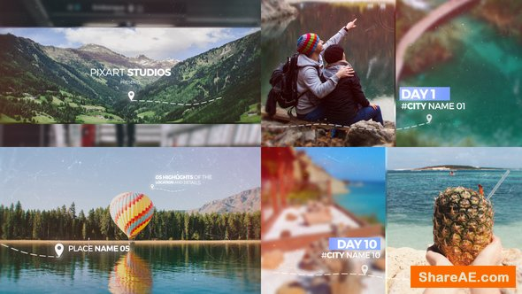 Videohive Travel Memories Slideshow