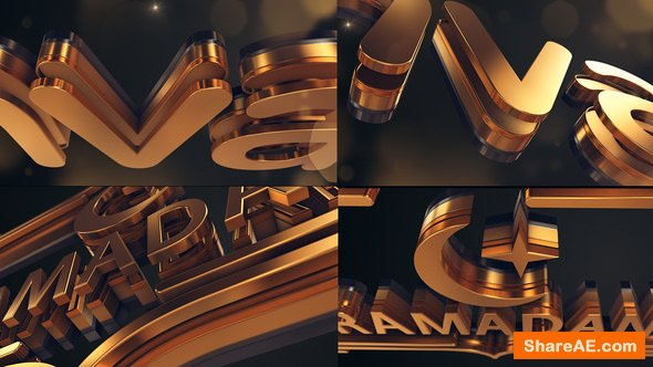 Videohive Gold Logo Reveal