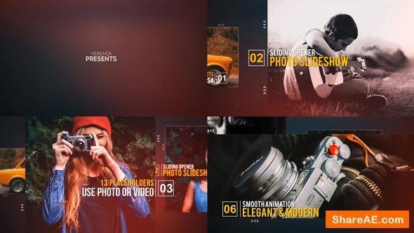 Videohive Sliding Opener - Photo Slideshow