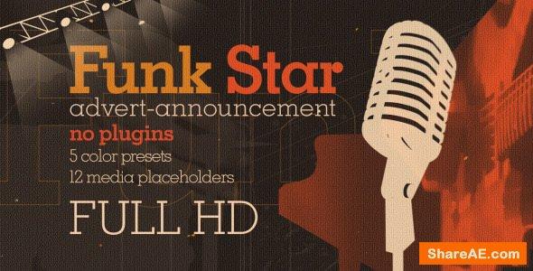 Videohive Funk Star