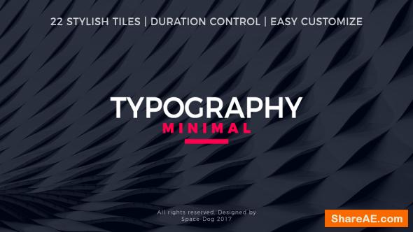 Videohive Minimal Typography
