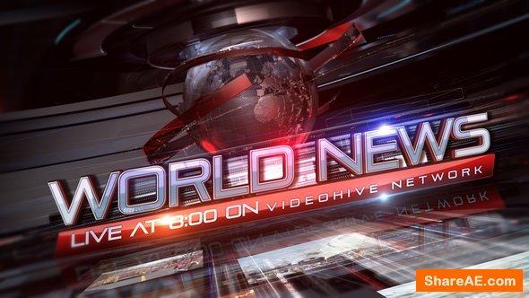 Videohive World News Broadcast Pack V.2