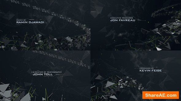 Videohive Abstract Polygons Credits