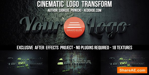 Videohive Cinematic Logo Transform