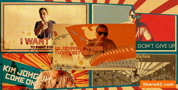 Videohive Freeze Frames: Propaganda Pack