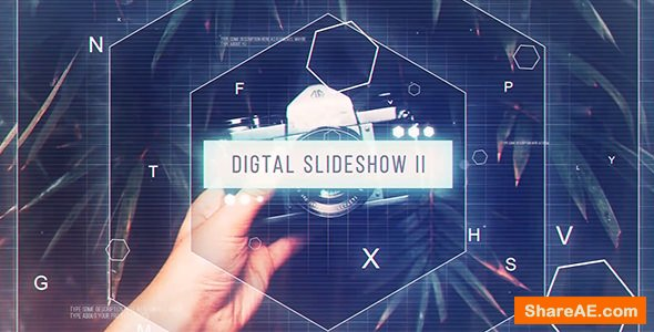 Videohive Digital Slddeshow