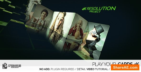 Videohive Play Your Cards