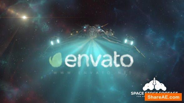 Videohive Spaceship Logo Reveal 2