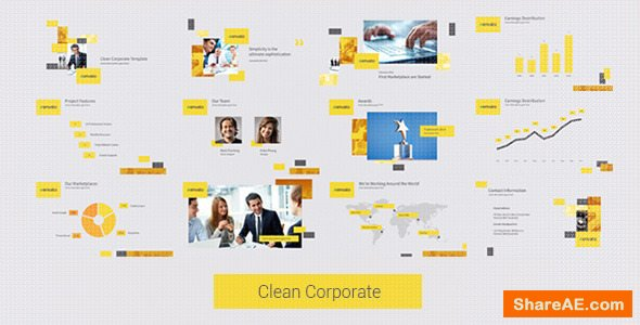 Videohive Clean Corporate 12776829