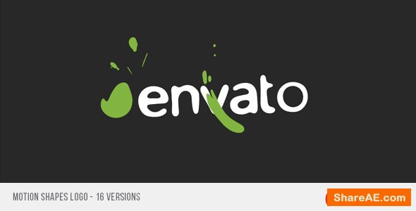Videohive Motion Shapes Logo
