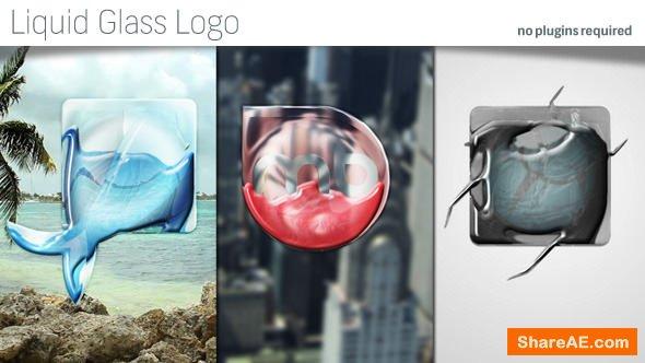 Videohive Liquid Glass Logo