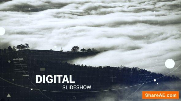 Videohive Digital Slideshow - Premiere Pro Templates 22196043