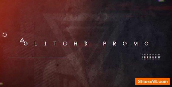 Videohive Glitchy Promo