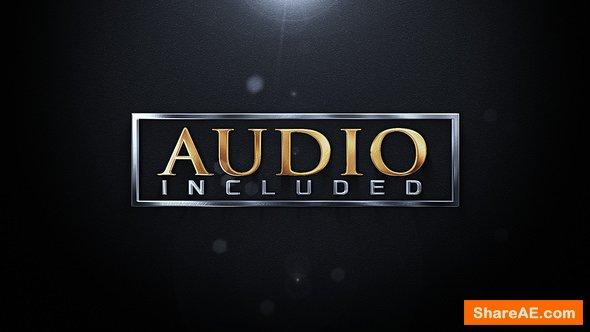 Videohive Elegant Metallic Logo