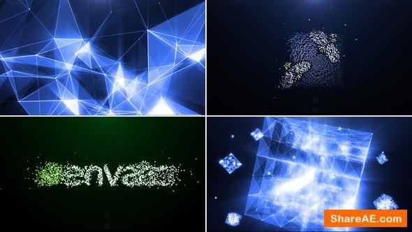 Videohive Plexus of particles