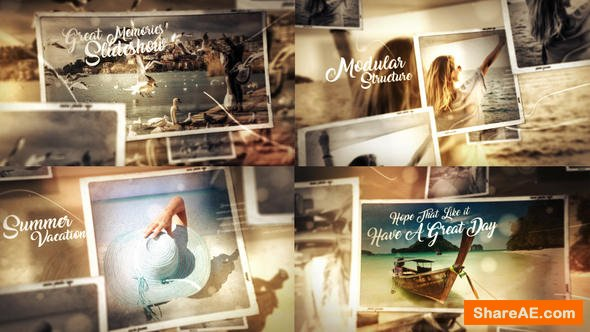 Videohive Great Times Photo Gallery Slideshow